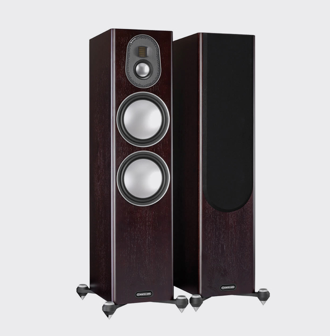 Monitor Audio Gold 300 Donker walnoot